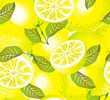Lemon background by maystra