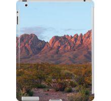 Organ Mountains At Sunset iPad Case/Skin