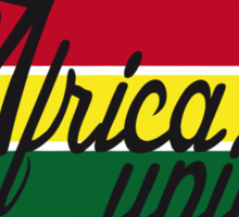 AFRICA UNITED Sticker