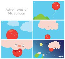 Adventures of Mr. Balloon by choizilla