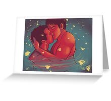Fireflies in the Gloaming Greeting Card