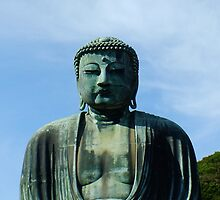 Great Buddha (Daibutsu) of Kamakura, Japan by Eydnaoh