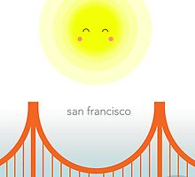 sunny san francisco by adriefairy