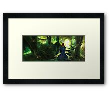 Heartwood Framed Print