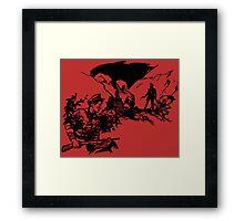 El Soldado Framed Print
