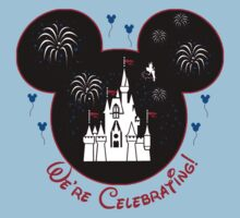 Celebrating Mickey Mouse with Magic Kingdom Castle by sweetsisters