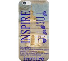 The Meaning of Inspire iPhone Case/Skin