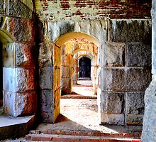 Aged Arches by Pamji