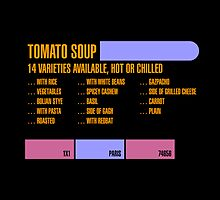 14 Varieties of Tomato Soup (1x1a) by erbeining