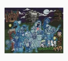 Grim Grinning Ghosts Kids Clothes