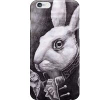We're Late! iPhone Case/Skin