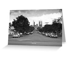 Cavendish Street, Highgate. Greeting Card