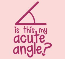 Is this my Acute angle? with mathematical angles by jazzydevil