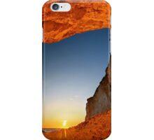 Sunset at Erimitis beach - Paxos island iPhone Case/Skin
