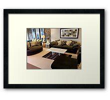 Guest Room, Living Room Framed Print