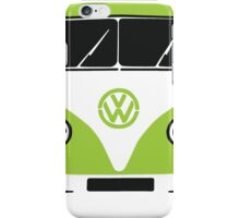 VW Camper Pillow Green iPhone Case/Skin