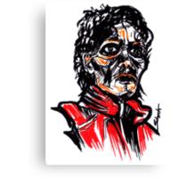 Thriller MJ Canvas Print