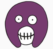 The Mighty Boosh Mask – Purple by PonchTheOwl
