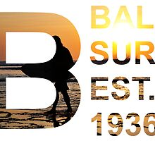 Bali Surf Est. 1936 (Rectangular) by TMDesigns