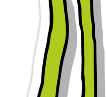 Runner Beans Shadowed Sticker