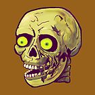decaying zombie by theSilverSkull