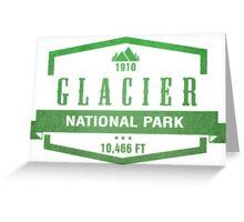 Glacier National Park, Montana Greeting Card