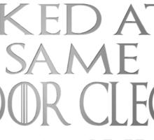 Sandor Clegane - chickens Sticker