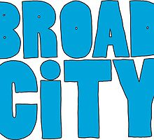 broad city logo by cherhorowitz