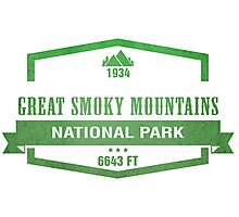 Great Smoky Mountains National Park, Tennessee Photographic Print
