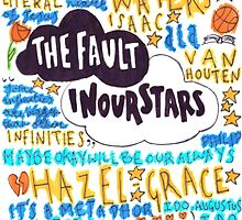 the fault in our stars collage by artbyeilidh