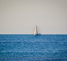 Summer Sailboat by dc42291