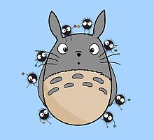 Little Totoro Pillow! by alexhefe