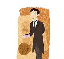 Jeeves and Coffee by elizakaze