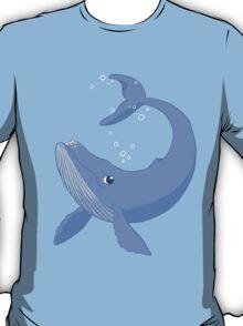 Cute Blue Whale T-Shirt