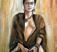 Frieda Kahlo by olivia-art