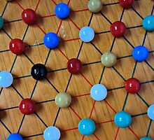 Chinese Checkers by tvlgoddess