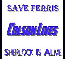 Ferris Colson Sherlock Geek Support by Photoguy350