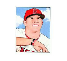 Mike Trout by nhornak99