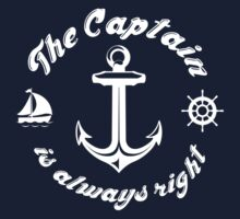 The Captain Is Always Right by DesignFactoryD