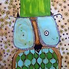 Flat top owlie by lacey lee