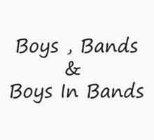 Boy Bands by MelissaValdez
