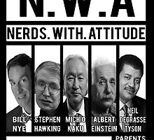 N.W.A. Nerds With Attitude by SwankyOctopus