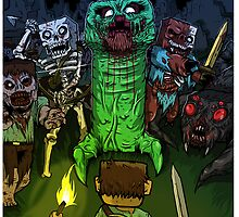 Minecraft Monsters by imLXZ