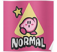 Kirby Normal Poster