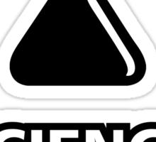 Science Bitch Funny Sticker