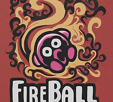 Kirby Fireball by likelikes