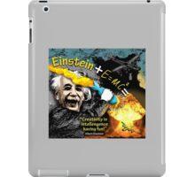 Einstein iPad Case/Skin