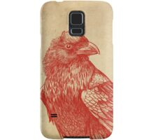 Red Raven  Samsung Galaxy Case/Skin