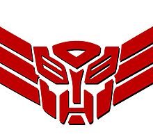 Transformers Autobot Logo by RockabillyAnt