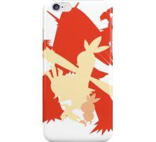 Pokemon - Torchic-Combusken-Blaziken Evolution Trio iPhone Case/Skin